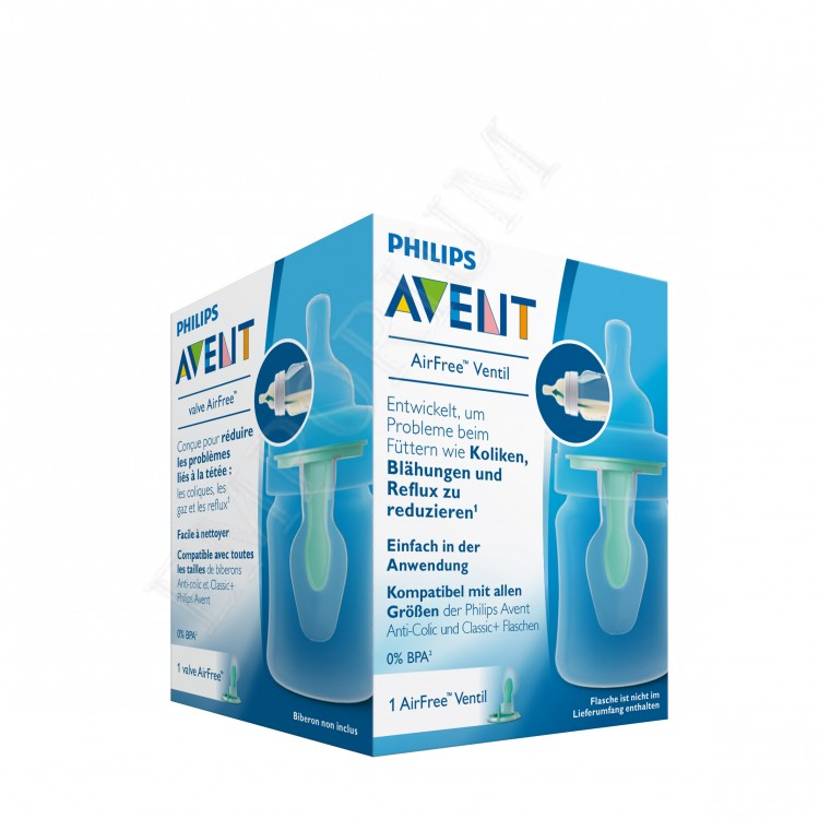 Philips Avent Вентилационен отвор (клапа) AirFree, 1 бр. в опаковка SCF819/01
