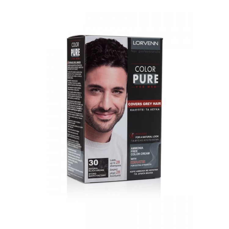 Lorvenn Color Pure Men Боя За Коса
