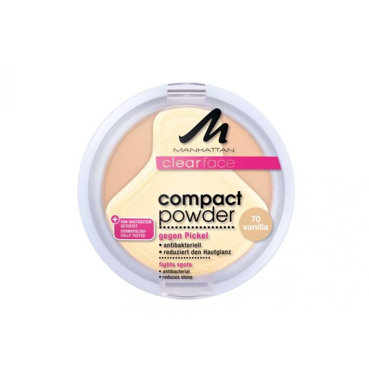 Manhattan Compact Powder Антибактериална пудра за лице
