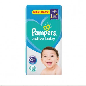 Pampers Active Baby Бебешки