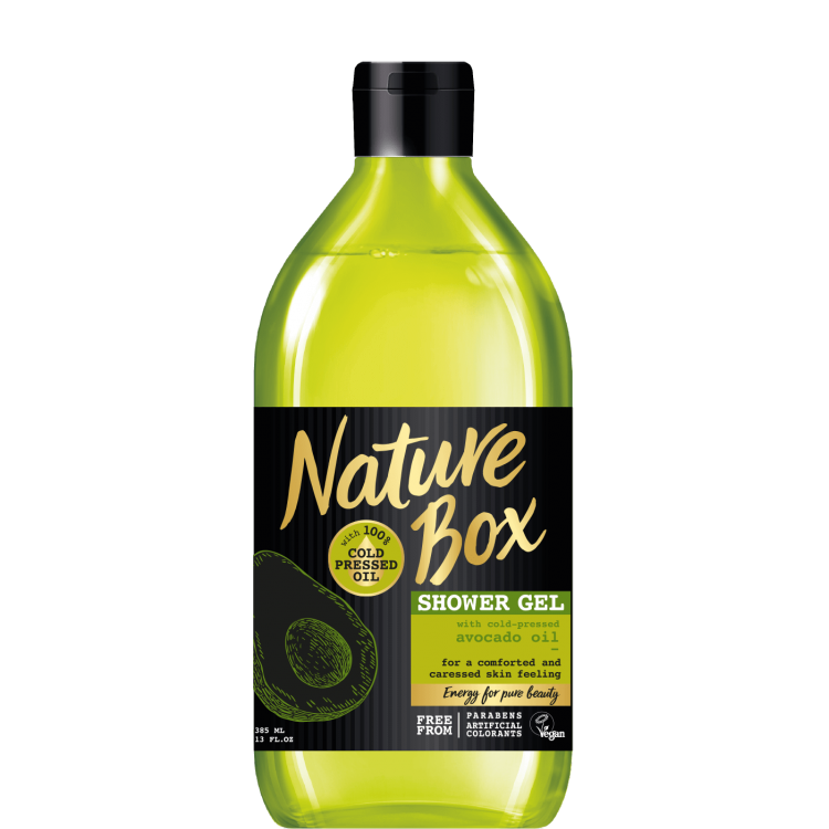 Nature Box Душ гел с масло от Авокадо