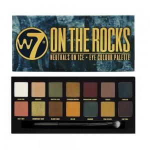 W7 On The Rocks Сенки за Оч