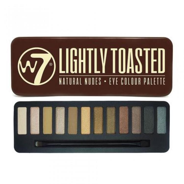 W7 Lightly Toasted Сенки за Очи 12 Цвята