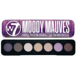 W7 Moody Mauves Сенки за Оч
